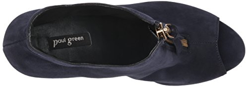 Paul Green Womens Malory Malory Blue Suede