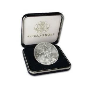 2012 US Silver Eagle with Velvet US Mint Box NEW Condition