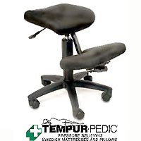 Jobri Kneeling Chair Featuring Tempur Pressure Relieving Memory Foam