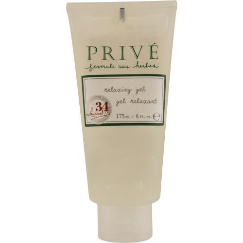 Prive Relaxing Gel No. 34, 6-Ounce Tubes by Prive