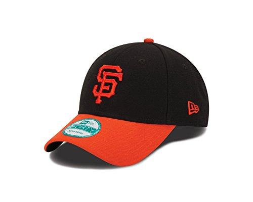 Mlb Giants Francisco San Baseball (New Era MLB SAN FRANCISCO GIANTS ALT The League 9FORTY Adjustable Cap, One Size, Black)