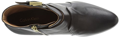 Boot Women's Klein Florine Leather Black Calvin aRSxwq
