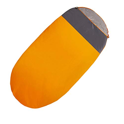 ZWYY Durable,Breathable Schlaftasche, Ultra-Leichtgewicht 4 Season Sleeping Pad Outdoor Indoor Portable Sleep Bags Komfortvolle Wasserproof Hiker Sleep Sack,Orange,230  100cm
