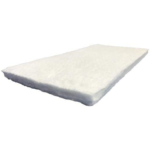 """USA Made Ceramic Fiber Blanket 2300F 8# 1""""x24""""x12"""" Insulation for Fireplace, Wood Stove, Forge, HVAC and More"""