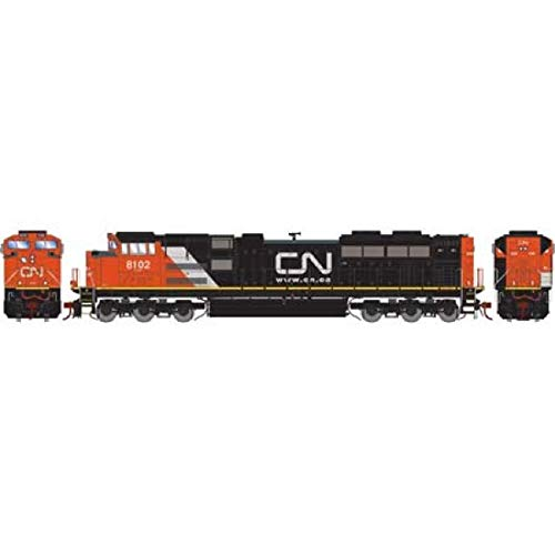 Athearn HO SD70ACe CN #8102 Re-Paint for sale  Delivered anywhere in USA