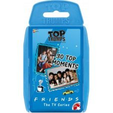 TOP TRUMPS - FRIENDS! Perfect for indoors, travelling, camping and holidays