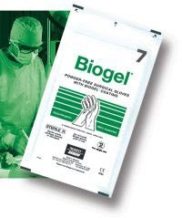 30465 PT# 30465- Glove Surgical PF Latex Sz 6.5 Strl Straw Colored Biogel 50Pr/Bx by, Molnlycke Healthcare (Regent) by Molnlycke Healthcare (Regent)