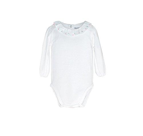 (Phlona Baby Girl's Hand Embroidered Ruffle Collar)