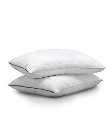 Down Pillow Back Sleeper (SHEEX - ORIGINAL PERFORMANCE Down Alternative Back/Stomach Sleeper Pillow, All of the Softness of Down Pillows with None of the Allergies (King))