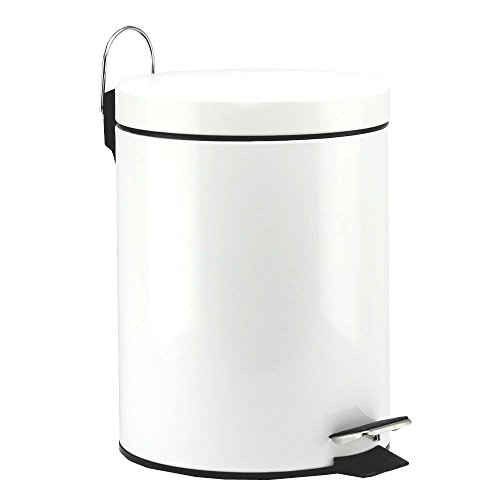 5 Liter/1.3 Gallon Round Step Color Trash Can