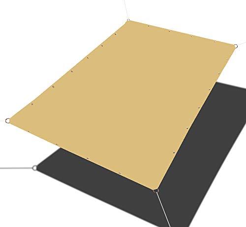 Alion Home Straight Edge Waterproof Woven Sun Shade