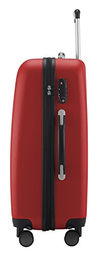 "HAUPTSTADTKOFFER - Wedding - Set of 3 Hard-side Luggage Glossy Suitcase Hardside Spinner Trolley Expandable (20"", 24"" & 28"") TSA Red by Hauptstadtkoffer (Image #2)"