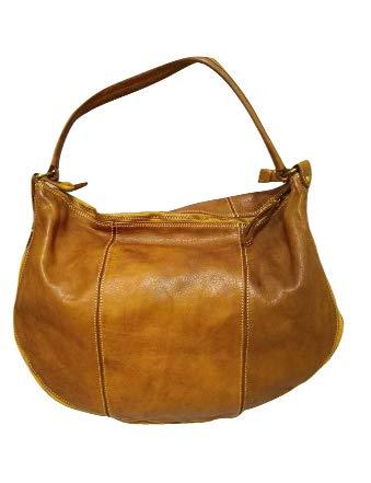 b07d338825 Borgata Bags , Sac bandoulière pour femme blanc Bianco: Amazon.fr ...