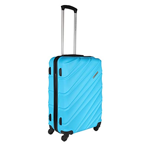 LD United Colors of Benetton Roadster Hardcase Luggage ABS 77 cms Sky Blue Hardsided Check in Luggage 0IP6HAB28B02I
