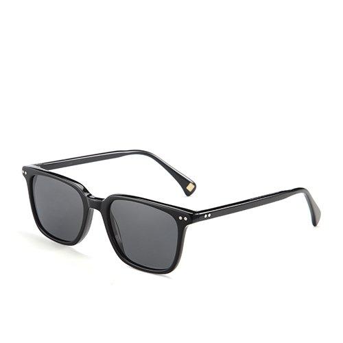 de lunettes pour Lunettes en Sunglasses pêche acétate C01 en voyage Black Guide Smoke de polarisé hommes Piazza unisexe soleil Lunettes TL pour fT6Zfw