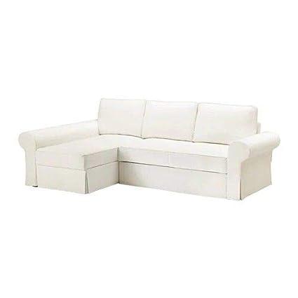 Sofa Chaise Longue Ikea.Ikiea Ikea Backabro Cover Sofa Bed With Chaise Longue Hylte
