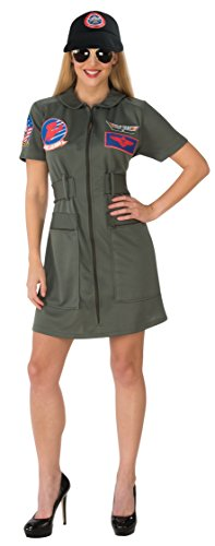 Rubie's Costume 821158-XS Co Adult Top Gun Female Costume, X-Small -