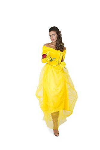 Cheap Princess Costumes For Adults (Karnival Women's Princess Beauty Costume Set - Perfect for Halloween, Costume Party Accessory. Trick or Treating (L))
