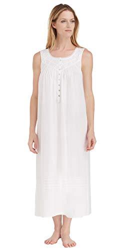Eileen West Everyday Sleeveless Ballet Nightgown (5219842) XL/White