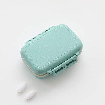 Caja de pastillas pequeña Caja portátil portátil de gran capacidad ...