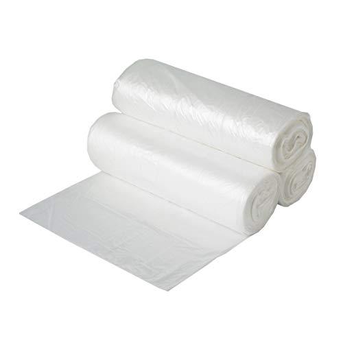Aluf Plastics HCR-386017C High Density Star Sealed Coreless Roll Bags, 60 gal, Polyethylene, 38
