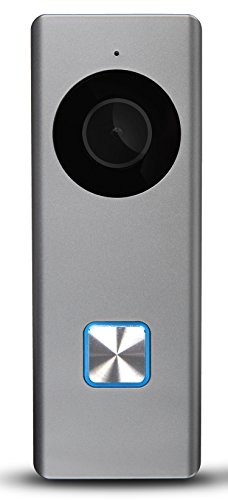 RCA Smart Doorbell Home Security Wifi Video Camera with Mobile Doorbell Ring,16GB Micro SD Card, 2-Way Talk, Night Vision and Motion Detection. Works w/iOS, iPhone, Android, Samsung, Google and more!