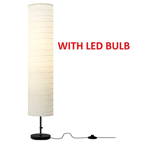Ikea Holmo 46 Inch Floor Lamp with LED Bulb