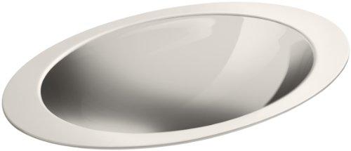 KOHLER K-2603-MU-NA Rhythm Self-Rimming Bathroom Sink with Mirror Finish