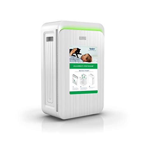 Aprilaire Allergy + Pet True HEPA Air Purifier with 4-Stage Filtration, Removes Pet Allergens & Odors, Ozone Free