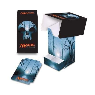 """Ultra Pro Magic: The Gathering Mana 5""""Swamp Full-View Deck Box w/Dice Tray: Sports & Outdoors"""