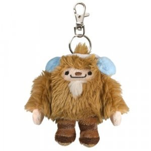 Vancouver Olympic Merchandise (2010 Vancouver Winter Olympics Mascot Plush Keychain - Quatchi)