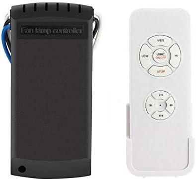 PQZATX Universal Kit de Control Remoto para Ventilador de Techo y Luz Sincronización Interruptores Inalámbricos