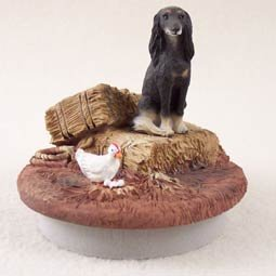 Conversation Concepts Miniature Saluki Candle Topper Tiny One