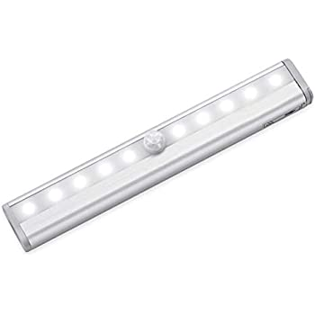Motion Closet Cabinet Sensor Light Bar High Key 10 Led Lamp Sensor
