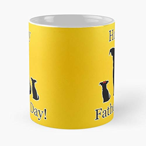Happy Fathers Day Dog Family Puppies C The Best Selling Tea Coffee Mug Ever (Bioshock Infinite Best Game Ever)