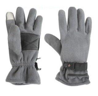 Guantes de tela polar con calefacció n con baterí a marca Dual Fuel, de WarmawearTM, M/L Primrose