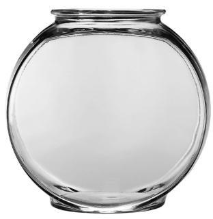 Anchor Hocking 1 Gallon Drum Glass Bowl 2Pk