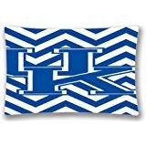 Power Offer NCAA University of Kentucky Chevron Pillow Case Cover 20X30 Inches 50x75 Cm (Two Sides) Birthday Gift
