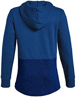 Under Armour Boys Unstoppable Double Knit Hoody Warm-up Top