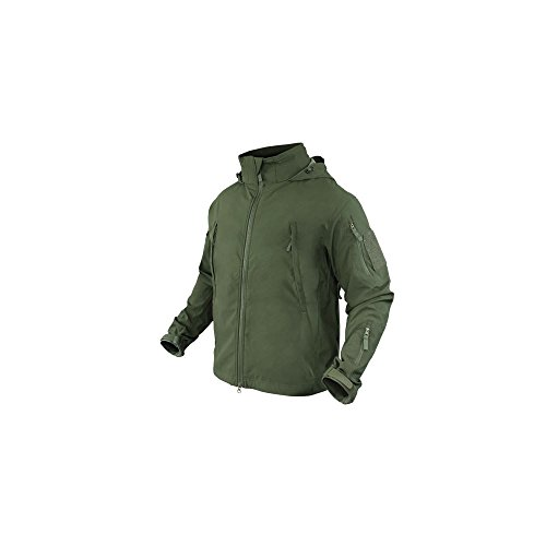 Condor SUMMIT Zero Lightweight Soft Shell Jacket - 609 (Small, Olive Drab) (Light Jacket Shell Soft)