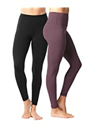 Yogalicious High Waist Ultra Soft Lightweight Leggings -  High Rise Yoga Pants