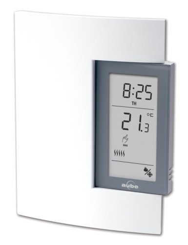 Aube by Honeywell TH141HC-28-B/U Heat and Cooling 7-Day Programmable Thermostat