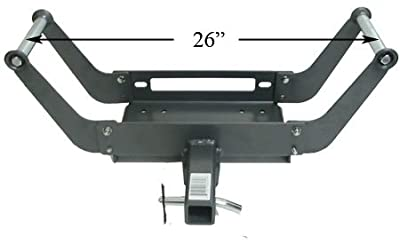 "Removable 2"" Hitch Receiver Winch Mount Portable w/ Pin*FREE SHIPPING*"