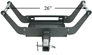 """Removable 2"""" Hitch Receiver Winch Mount Portable w/Pin"""