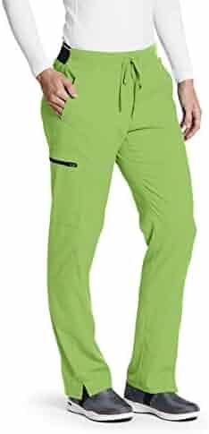 e20a6daede8 Grey's Anatomy Spandex Stretch GRSP500 Women's 3-Pocket Elastic Back Logo Waistband  Cargo Kim Scrub