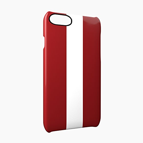 Flag of Latvia Glossy Hard Snap-On Protective iPhone 7 Case Cover