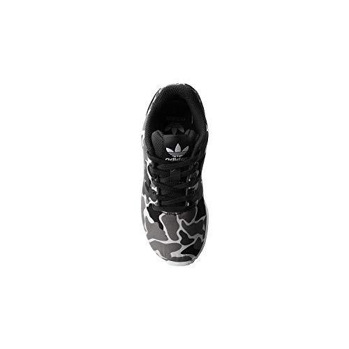 ZX Ftwbla 000 Gris adidas Deporte Unisex de Zapatillas Adulto Carbon Flux J 7APwPvqd