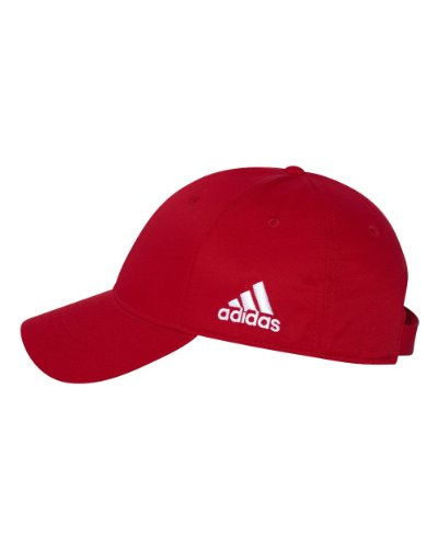 adidas - Core Performance Max Structured Cap - A600 - One Size - Red A600 (Adidas Red Hat)