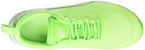 Green Ghost Max Elctrc Air White NIKE Thea Baskets Green Verde Femme YS0n6qw1