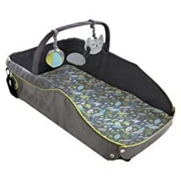 Eddie Bauer Infant Travel Bed - Black/green